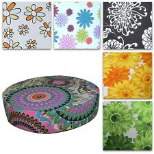 "2""Thick-Round Box Shape Cover*Aster Cotton Canvas Chair Seat Cushion Case*AF4"