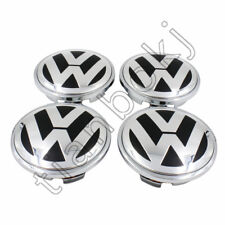 4pcs 65mm Chrome Center Wheels Hub Caps Logo Fit for VW Free shipping