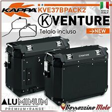 VALIGIE LATERALI KAPPA K-VENTURE ALLUMINIO NERO KTM ADVENTURE 950/990 2003-14