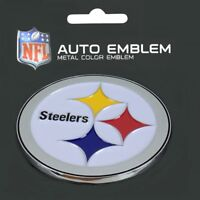 Pittsburgh Steelers Heavy Duty Metal 3-D Color Auto Emblem