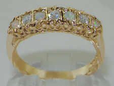 Engagement Eternity Round Yellow Gold Fine Rings