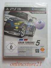 Gran Turismo 5 Academy Edition PlayStation 3 nuevo ps3 Sealed