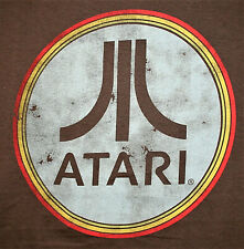 Retro Look Atari Logo Video / Arcade Game  2020 T-Shirt  New Men's Lg
