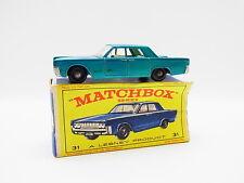 "LOT 33387 | Matchbox 31 C Lincoln Continental US-Car PKW neuwertig in ""E""-Box"