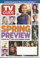TV Guide Magazine Spring Preview Two And  A Half Men Bethenny Frankel SNL 2011