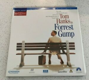 FOREST GUMP - WIDESCREEN EDITION Laserdisc - With Protect Sleeve