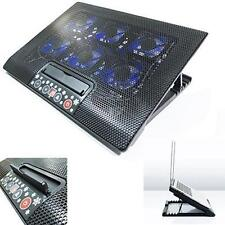 "Laptop Cooler Stand Con 6 Fan & inclinación para 15 17 ""pulgadas de control de botón Cooling Pad"
