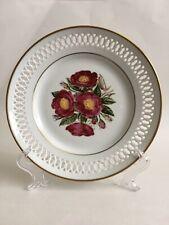 Bing & Grondahl Danbury Mint 1979 The -12 Rose Plates Rosa Gallica Ltd Ed Plate