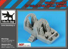 Black Dog 1/48 S-3 Viking Cockpit Set for Italeri kits