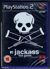 PS2 Jackass The Game (2007) UK Pal, New & Sony Factory Sealed