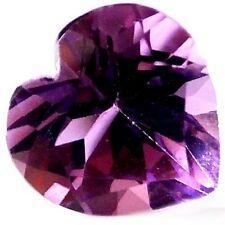 Heart Very Good Cut Natural Loose Amethysts