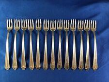 Set Of 4 Gorham King Albert Sterling Silver Cocktail Oyster Seafood Forks 3 Avl.