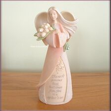 MOTHER FIGURINE ANGEL BY KAREN HAHN FROM ENESCO FOUNDATIONS FREE U.S. SHIPPING