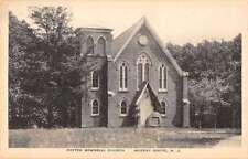 Murray Grove New Jersey Potter Memorial Church Entrance Antique Postcard K15284