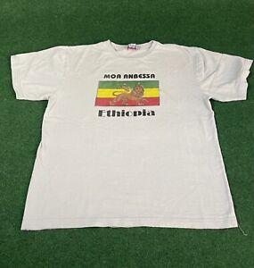 *Rare* Moa Anbessa Ethiopia Saxophonist Getarchew Mekuria T Shirt Size L
