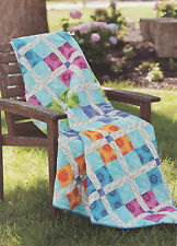 Calypso Carnival Quilt Pattern from a Magazine