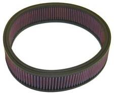 E-1530 K&N Replacement Air Filter CHRYSLER,DODGE,PLY.,FORD, 1968-89 (KN Round Re