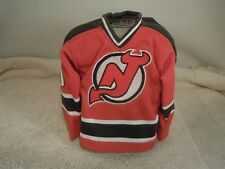 2003/04 PACIFIC HEADS UP NHL MARTIN BRODEUR DEVILS MINI SWEATER JERSEY