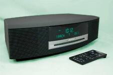 Bose Wave Music System III-Radio AM/FM iPhone/iPod CD Player-Alarm-Graphite Grey