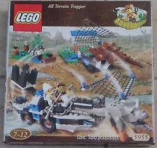 Lego Adventurers 5955 Dino Island All Terrain Trapper (186 pcs) New MISP 2000