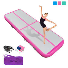 10Ft Inflatable Airtrack Air Track Gymnastics Mat Tumbling Yoga Training Gym 4""