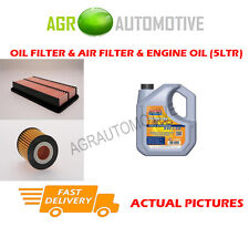 PETROL OIL AIR FILTER KIT + LL 5W30 OIL FOR MAZDA MPV 2.3 141 BHP 2002-06