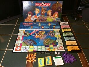 SCOOBY-DOO MONOPOLY Fright Fest Edition Board Game 2000 98%