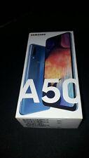 """Samsung Galaxy A50 (128GB / 4GB) - 6.4"""" Zoll - Blau / blue Android 11 Smartphone"""