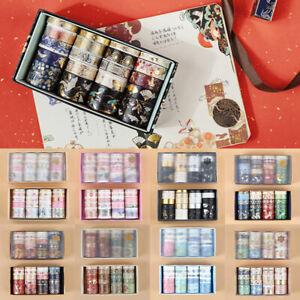 20 Rolls Japanese Washi Tape Masking Sticker DIY Scrapbooking Diary Album Craft