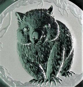 NEW! 2021 p WOMBAT 1 oz .999 silver PROOF coin in Capsule-Perth Mint- IN STOCK!