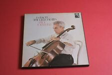 SLS 798 /3 Bach Cello Suites Paul Tortellier EMI HMV STEREO 3 LP Box Set UK