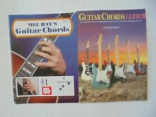 Lot of 2 Music books Guitar Chords Plus Middlebrook + Mel Bay's Guitar Chords