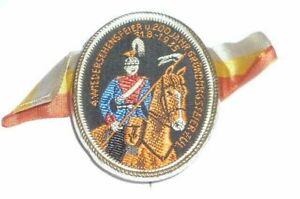 Alte Orden Abzeichen Ulanen 7 Saarbrücken Nadel 1.Weltkrieg 200 Jahre Regiment