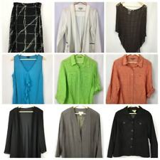 Womens Size 16 Lot Suzanne Grae BIB Corporate Shirt Casual Blouse #W311