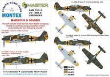 Montex KAM 1:32 Fw-190 A-5 #2 for Hasegawa Mask +Metal Part #KAM32013