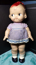 "CAMPBELL KID ~ ALL COMPOSITION DOLL ~ 12.5"" TALL ~ HORSMAN ~ CAMPBELL'S SOUP ~a"