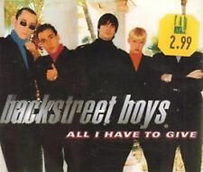 105  Backstreet Boys -  All I Have To Give   CD Single