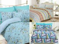 LUXURY GREAT KNOT PRINT DUVET COVER QUILT BEDDING SET SINGLE DOUBLE KING SIZES