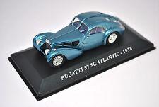 Voiture modèle réduit collection 1/43ème Bugatti SC Atlantic de 1938