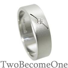 Diamond White Gold Rings for Men