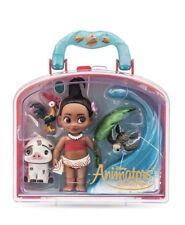NEW Disney Store Animators' Moana 5 Inch Doll Figure Mini Playset