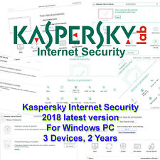 Kaspersky Internet Security 2016 3pc Keycard activation License for 1yr Au & NZ