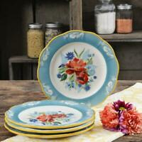 The Pioneer Woman Spring Bouquet Salad Plate, Set of 4