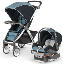 Chicco Bravo Trio 3-in-1 Baby Travel System Stroller w/ KeyFit 30 2017 Iceland