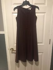 Banana Republic Dress Size 6 Burgandy Perfect For Holiday
