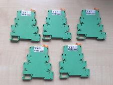 5 Stück PHOENIX CONTACT PLC-BSC-24DC/21 2966016 + Einzelrelais
