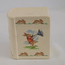 Royal Doulton England Bunnykins Windy Day Bank Cute Ceramic Ice Cream Party