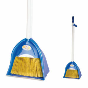 Dustpan and Brush 2 Piece Set for Sweeping Cleaning 4 Colours avaliable