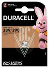 Duracell Uhrenbatterie 389/390 SR54 SR1130 SG10 LR54, 1er Pack