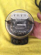 New listing Vintage Watt Hour Meter Steam Punk